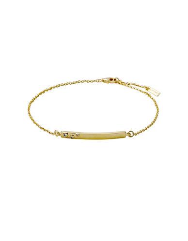 Pilgrim Sophy Crystal Bracelet-GOLD-One Size
