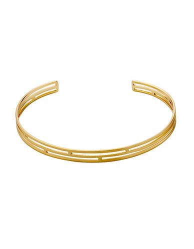 Pilgrim Lianne Open Cuff Bracelet-GOLD-One Size