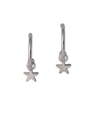 Pilgrim Star Classic Earrings-SILVER-One Size