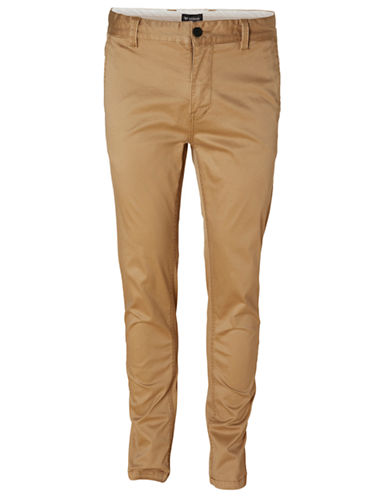 Minimum Slim Fit Chinos-BEIGE-36