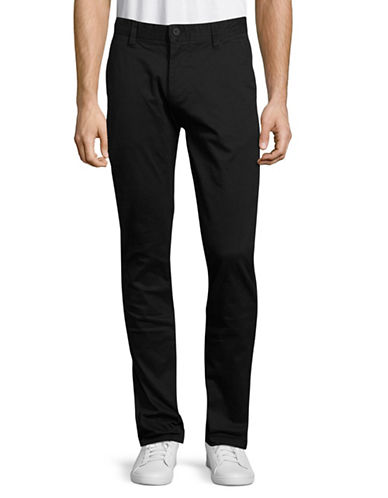 Minimum Norden Five-Pocket Pants-BLACK-36