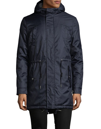 Minimum Wexford Hooded Jacket-BLUE-Large 89313744_BLUE_Large