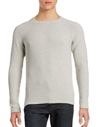 Rvlt Seed-Stitch Sweater-GREY-Medium 88727678_GREY_Medium