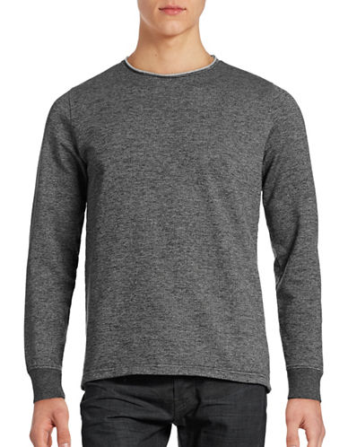 Rvlt Grid Weave Pullover-BLACK-Small 88682683_BLACK_Small