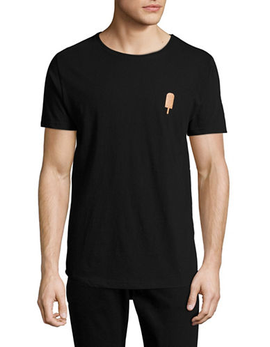 Rvlt Cork Applique T-Shirt-BLACK-Medium 89068557_BLACK_Medium