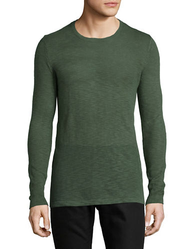 Rvlt Knit Pullover-GREEN-Small