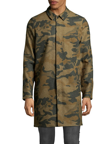 Rvlt Mac Camo Jacket-GREEN-Small