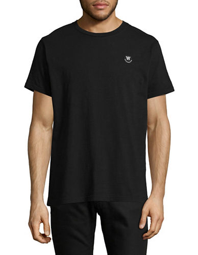Wood Wood Classic T-Shirt-BLACK-Large