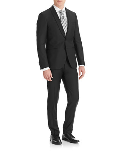 Tiger Of Sweden Sinatra Satin Trim Tuxedo-BLACK-EU 48/US 38