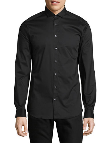 Tiger Of Sweden Tiger Steel Sport Shirt-BLACK-43