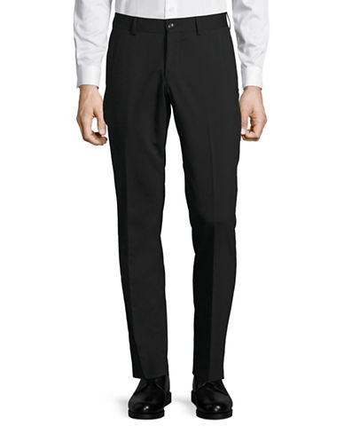 Tiger Of Sweden Wool-Blend Pants-BLACK-30