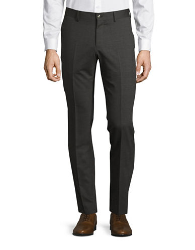 Tiger Of Sweden Wool-Blend Pants-GREY-30