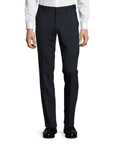 Tiger Of Sweden Wool-Blend Pants-NAVY-30