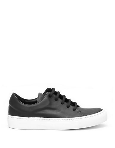 The Last Conspiracy Fuyu Lace-Up Sneakers-BLACK-EUR 35/US 5