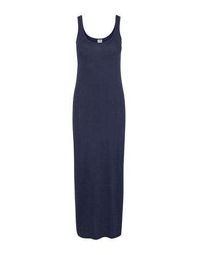 Vero Moda Nanna Sleeveless Ankle Dress-BLUE-X-Small