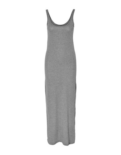 Vero Moda Nanna Sleeveless Ankle Dress-MEDIUM GREY-Medium