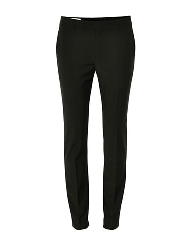 Inwear Kinsa Wool-Blend Cigarette Pants-BLACK-42