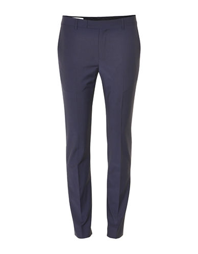 Inwear Kinsa Wool-Blend Cigarette Pants-NAVY-32
