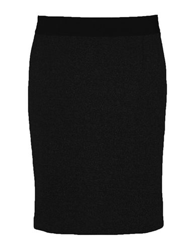 Inwear Olally Knit Pencil Skirt-BLACK-36