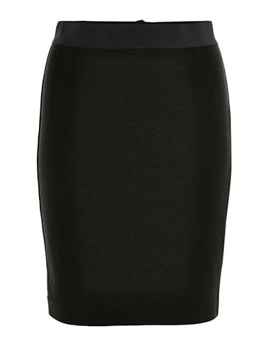 Inwear Olally Knit Pencil Skirt-GREY-34
