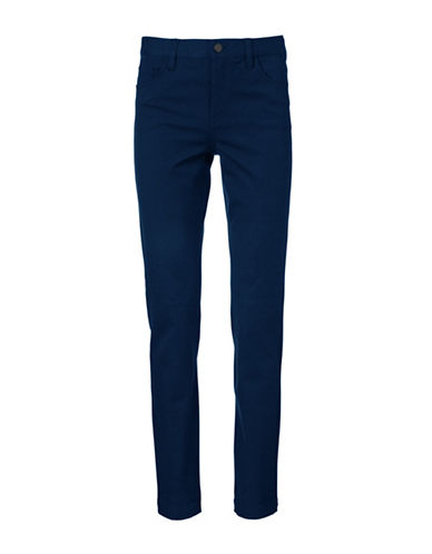 Inwear Pen-Oppi Bi-Stretch Straight-Leg Pants-NAVY-40
