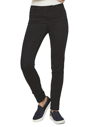 Noisy May Lucy Extreme Soft Skinny Jeans-BLACK-Small