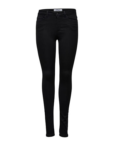 Only onlROYAL Skinny Jeans-BLACK-Medium