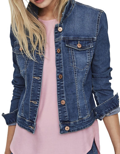 Noisy May Denim Jacket-BLUE-Medium 87487895_BLUE_Medium