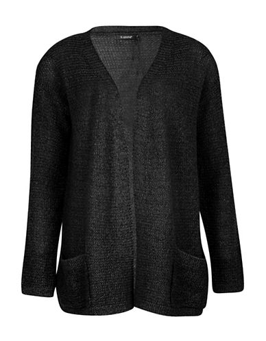 B. Young Manus Open Front Cardigan-BLACK-Small 88682013_BLACK_Small
