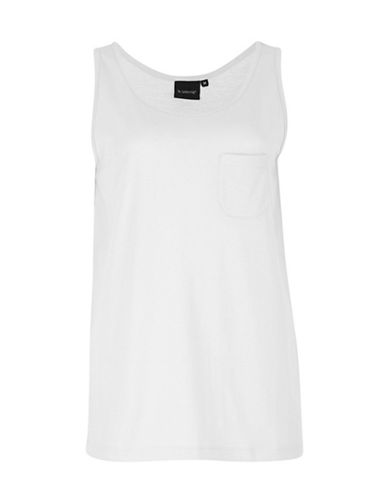 B. Young Layered Peplum Top-WHITE-Small