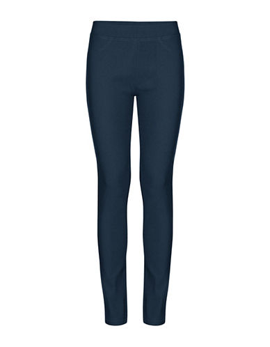 B. Young Keira Full-Length Leggings-BLUE-X-Small