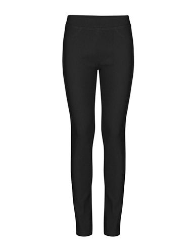 B. Young Keira Full-Length Leggings-BLACK-Small