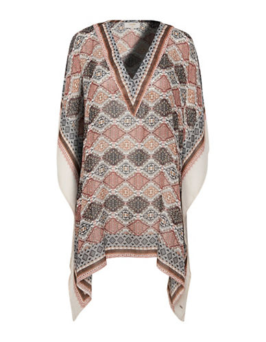 Cream Blenda Kaftan-BROWN MULTI-One Size
