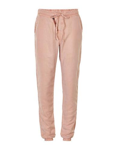 Cream Vibi Soft Jogger Pants-PINK-42