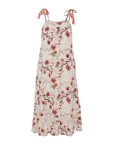 Cream Alala Floral Sundress-BEIGE-42