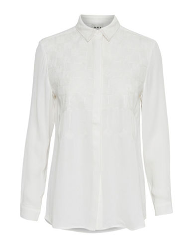 Karen By Simonsen Parisian Blouse-WHITE-34