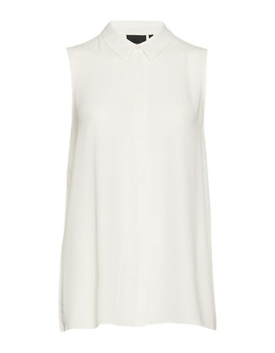 B. Young Fulvia Pleat Back Blouse-NATURAL-44