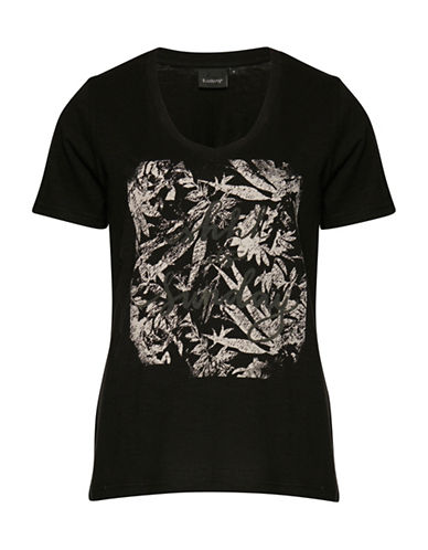 B. Young Silan 2 Graphic T-Shirt-BLACK-X-Small 88573145_BLACK_X-Small