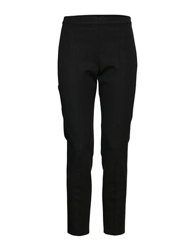 B. Young Edel Cigarette Pants-BLACK-38