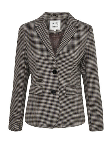 Karen By Simonsen Pamper Blazer-GREY-40