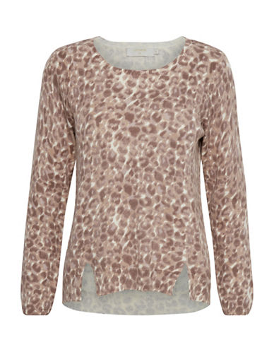 Cream Bianca Pullover-BROWN MULTI-X-Large