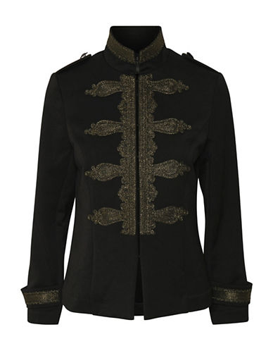 Karen By Simonsen Recap Military Jacket-BLACK-44