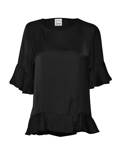 Karen By Simonsen Pale Oversized Blouse-BLACK-40