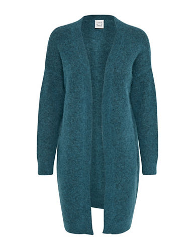 Karen By Simonsen Panther Cardigan-BLUE-Small