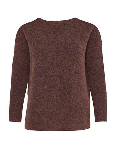 Karen By Simonsen Panther Pullover-BROWN-Small