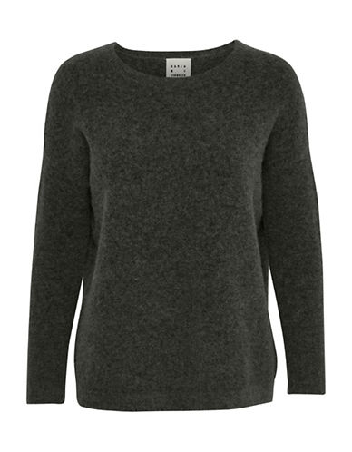 Karen By Simonsen Panther Pullover-GREY-X-Small
