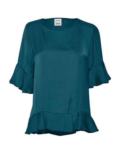 Karen By Simonsen Pale Oversized Blouse-BLUE-42