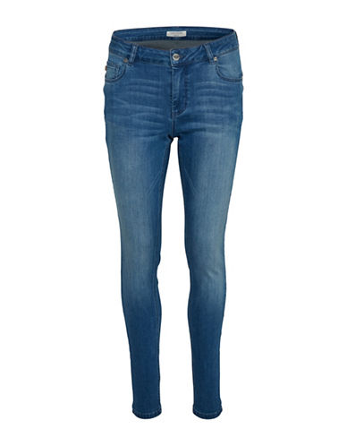 Denim Hunter Celina Long Custom Jeans-BLUE WASH-34