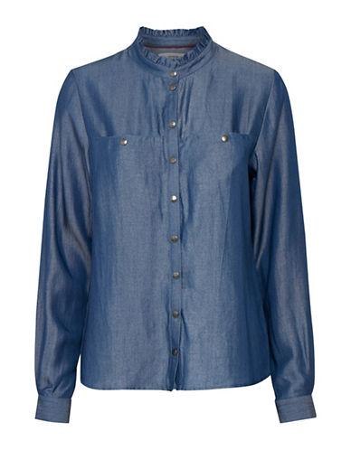 Denim Hunter Sebba Shirt-SILVER BLUE-38