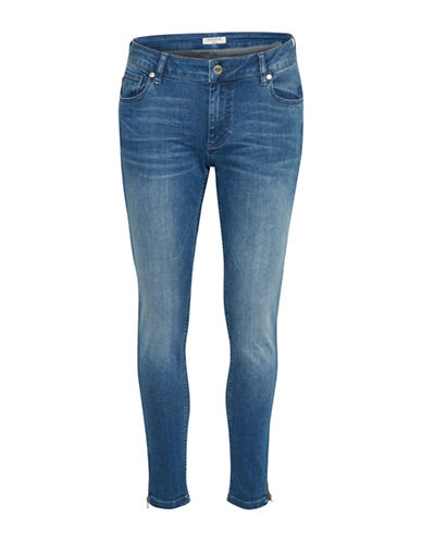 Denim Hunter Celina Zip Custom Jeans-BLUE WASH-30